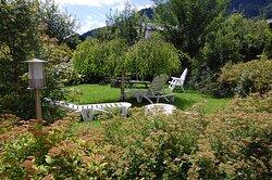 Unser gemütlicher Garten zum Sonnen und genießen - our lovely garden for sunbathing and chilling