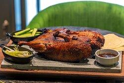 Peking duck to share