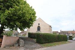J'ai adoré l'extérieur de cette église romane classée du XII è Siécle