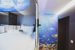 Unterwasser Kapsel
