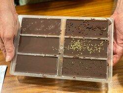 The chocolate we made!