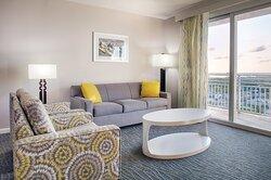 Living Room - Club Wyndham Ocean Walk