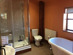 Bathroom in holiday cottage