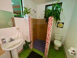 Family suite private bathroom