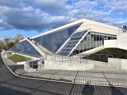 Калуга. Музей истории космонавтики. Новое здание открыли в 2021 году.