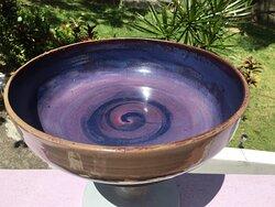 Purple Swirl FruitBowl