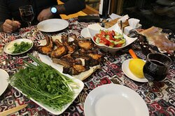 Best pork bbq ever made by Hayk! Perfect for that Armenian drinking session haha.