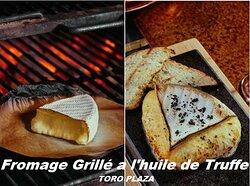 Camembert Grillé a l'Huile de Truffe ou au Miel