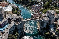 Mostar - old bridge - UNESCO