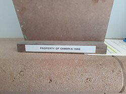 The Happy Birthday sign is property of Cambria Inns.