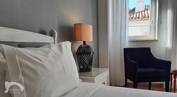 #1 Double Located on the 1st floor, this room offers side sea views, a private kitchen and a private bathroom.
