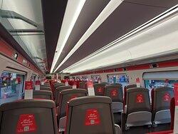 Impressive journey between Edinburgh and London