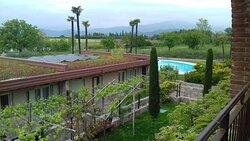 Terrazza vista Lago e vista piscina