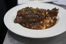 Our mouthwatering Lamb Shank