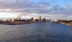 Arrival in Helsinki