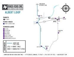 Albert Loop Map