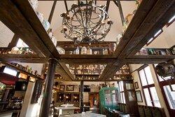 Bar area of Mary's Irish Pub