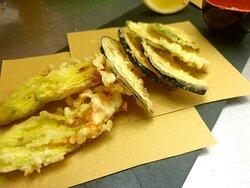 Tempura di verdure con maionese alla soia fatta in casa