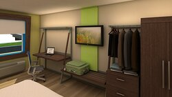 Modern and Comfortable Guest Room