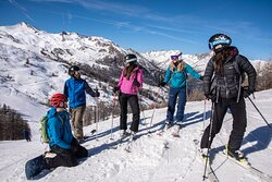 Skiing and snowboarding in Serre Chevalier with Ski Miquel