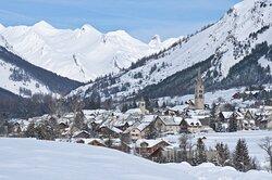 The enchanting village of Monetier-les-Bains