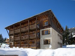External view of the Chalet-Hotel Lucille