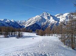 Stunning scenery in Montgenevre