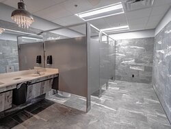 Yes, the bathrooms ARE this clean!