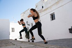 Getting fit and toned during daily body toning sessions