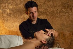 Stress and tensions melt away with relaxing massages