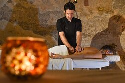 Soothing massages in the tranquil ambiance of the ancient retreat