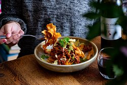 If the occasion calls for it, why not have a glass of red with your lunch?