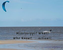 Having a good time on the coast of Mississippi