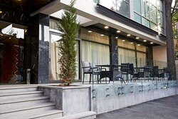 Exterior Outdoor Seating Area