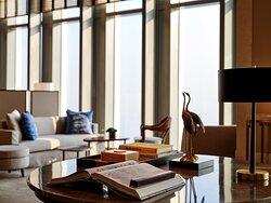 Rosewood Guangzhou Club Library Art