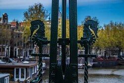 Mooi detail op een brug