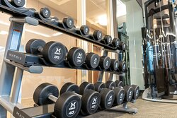 Enjoy the Fitness Center that is perfect for all levels of fitness.