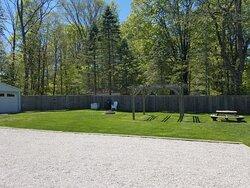 Backyard/Firepit/Picnic area (Spring)