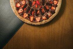 Pizza de Nutella