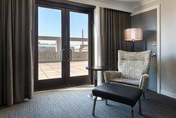 Suite - Sitting Area & Terrace