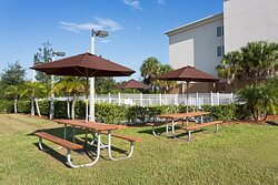 Enjoy some quality time outdoors in our picnic area