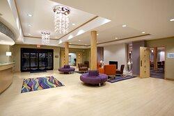 Spacious Reception Area