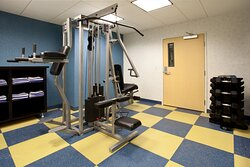 Work it out in our 24 hour Weight Room.
