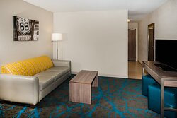 Suites with second TV and Queen sofa sleeper
