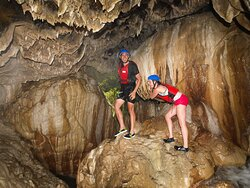 More than just rafting, we also do explore a cave during our trip