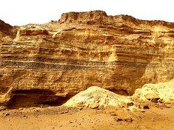 Jurassic style cliffs