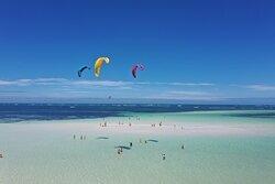 JC Kite School spot Garoda beach