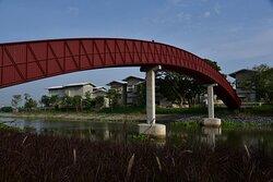 Bridge from the mainland