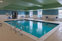 Enjoy the pool at the Holiday Inn Express & Suites Fort Worth, TX.