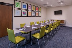 Board Room at the Holiday Inn Express & Suites Fort Worth West.